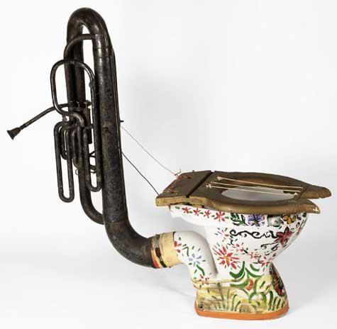 loophonium unusual music instrument