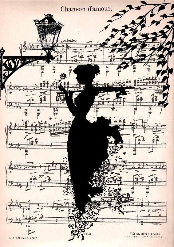 Music Sheet Art - by Jaroslav Seibert