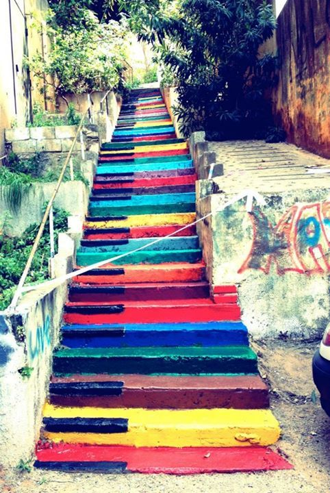 Piano Stairs Beirut