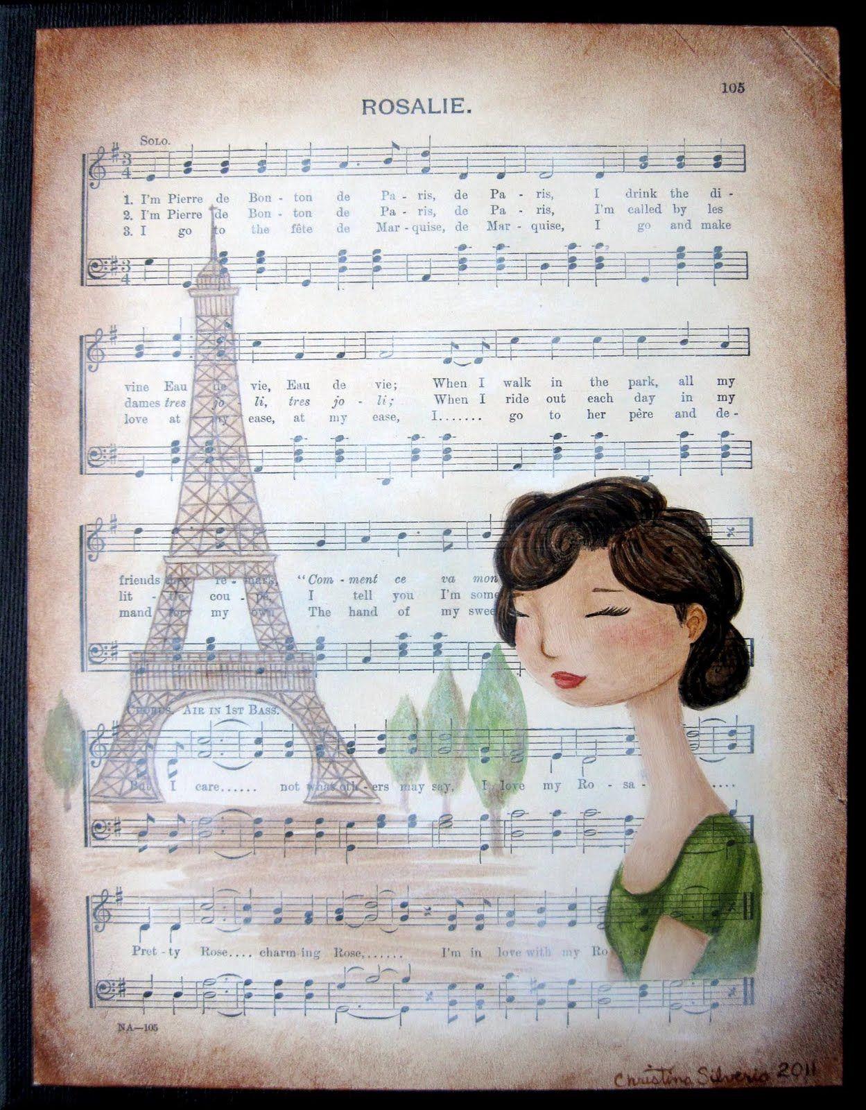Rosalie Acrylic Painting