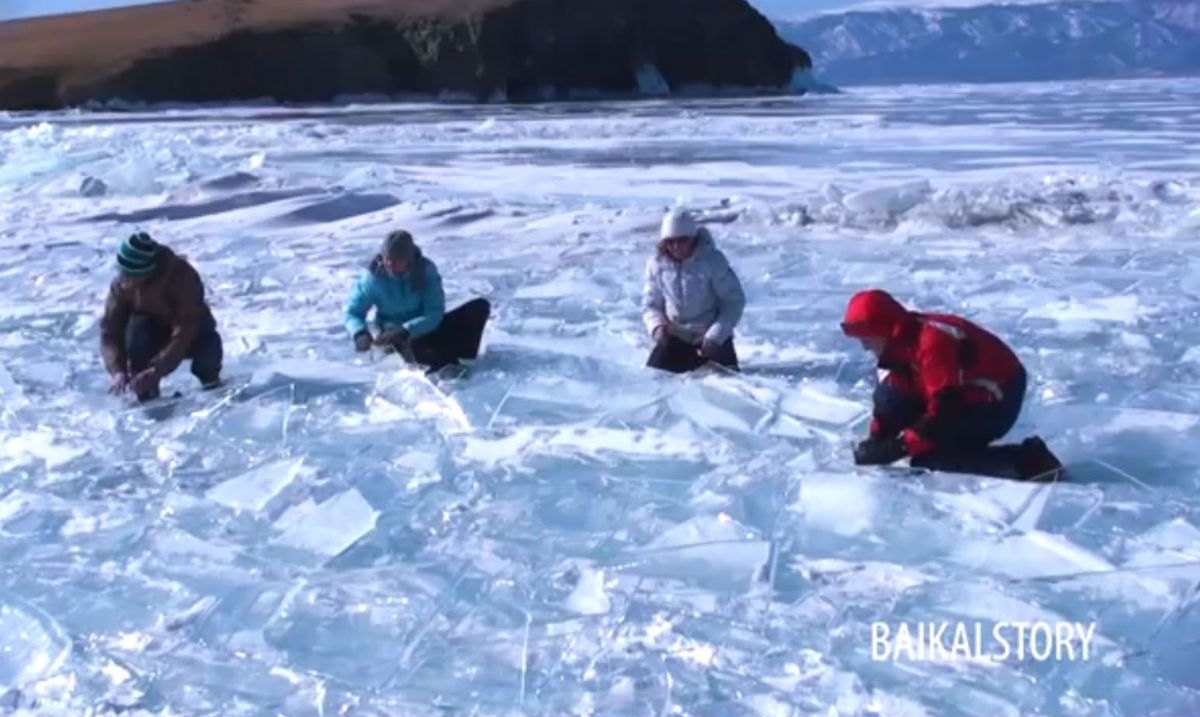 siberian ice drummers