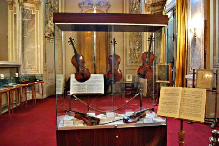 Enescu's Violins