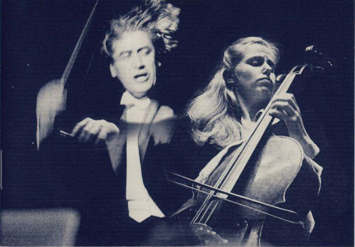 Jacqueline du Pré, cello. Swedish Radio Symphony Orchestra, Sergiu Сеlibidache, conductor 1967