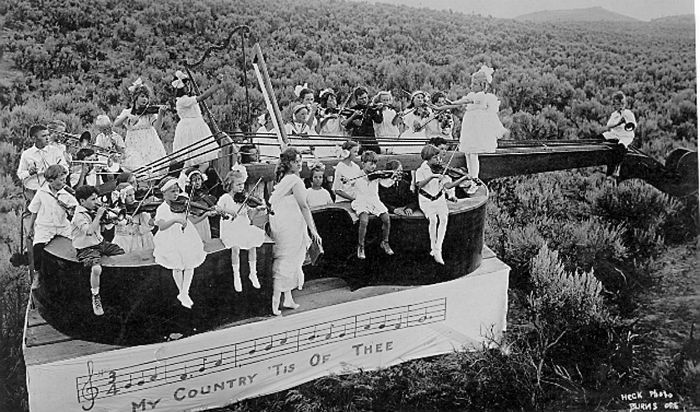 Sagebrush Symphony Orchestra circa 1915