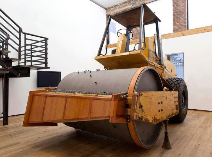 Big Musical Box Unusual Instrument