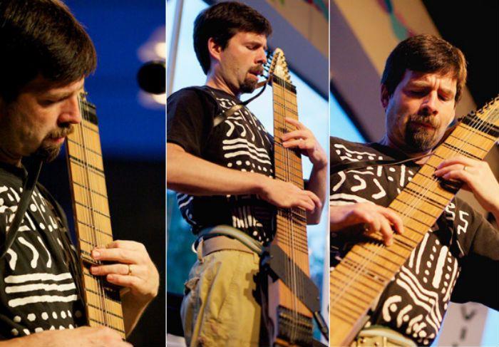 Chapman Stick Unusual Music Instrument