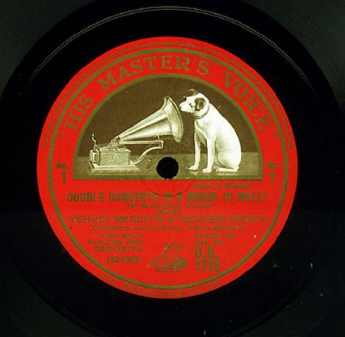 george enescu yehudi menuhin recordings