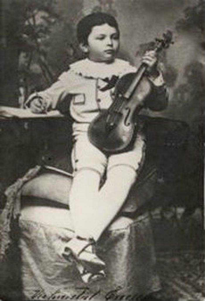 george enescu child 3 years old