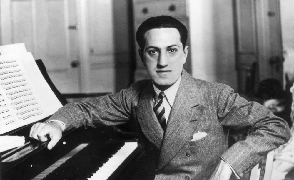 "a biography of george gershwin ""i want to use the piano as a stepping stone"" - george gerswhin "" a song without music is a lot like h2 without the o"" — ira gershwin george gershwin wrote most of his vocal and theatrical works, including more than a dozen broadway shows and several films in collaboration with his elder brother, lyricist ira gershwin."