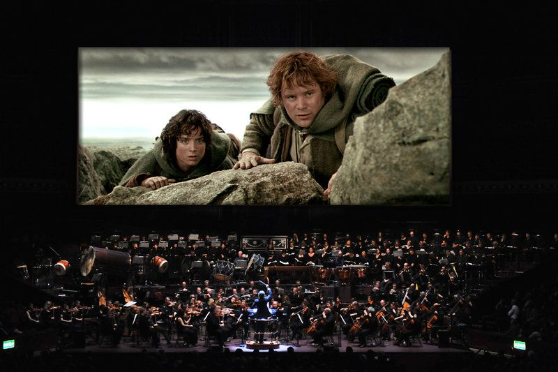 lord of the rings with live orchestra NYC 2015