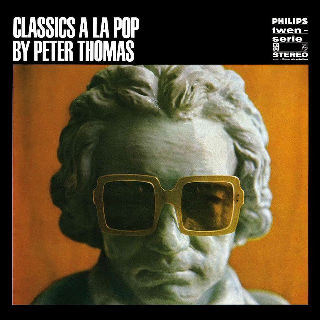 Classics a la Pop by Peter Thomas, 1967. Unknown artist. From the Philips Twen record series 1961-68.