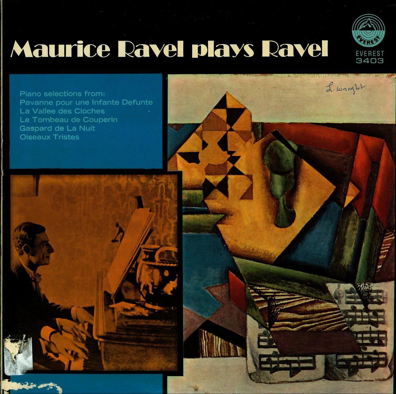 Maurice Ravel plays Ravel  Everest 3403 (1976)