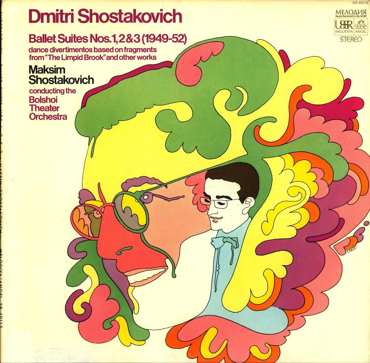 Shostakovich- Ballet Suites Nos. 1, 2, & 3 (1949-52) Bolshoi Theater Orchestra Maksim Shostakovich, conductor