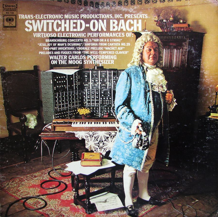 walter carlos switched on bach